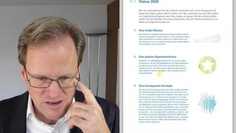 Siemens Aktien wegen der 2020 Strategie