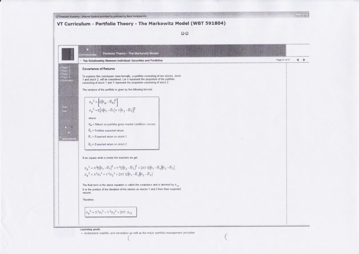 Vontobel quält alte Berater mit Mathe-Test - Inside Paradeplatz