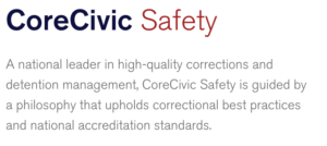 Corrections accreditation and privatization
