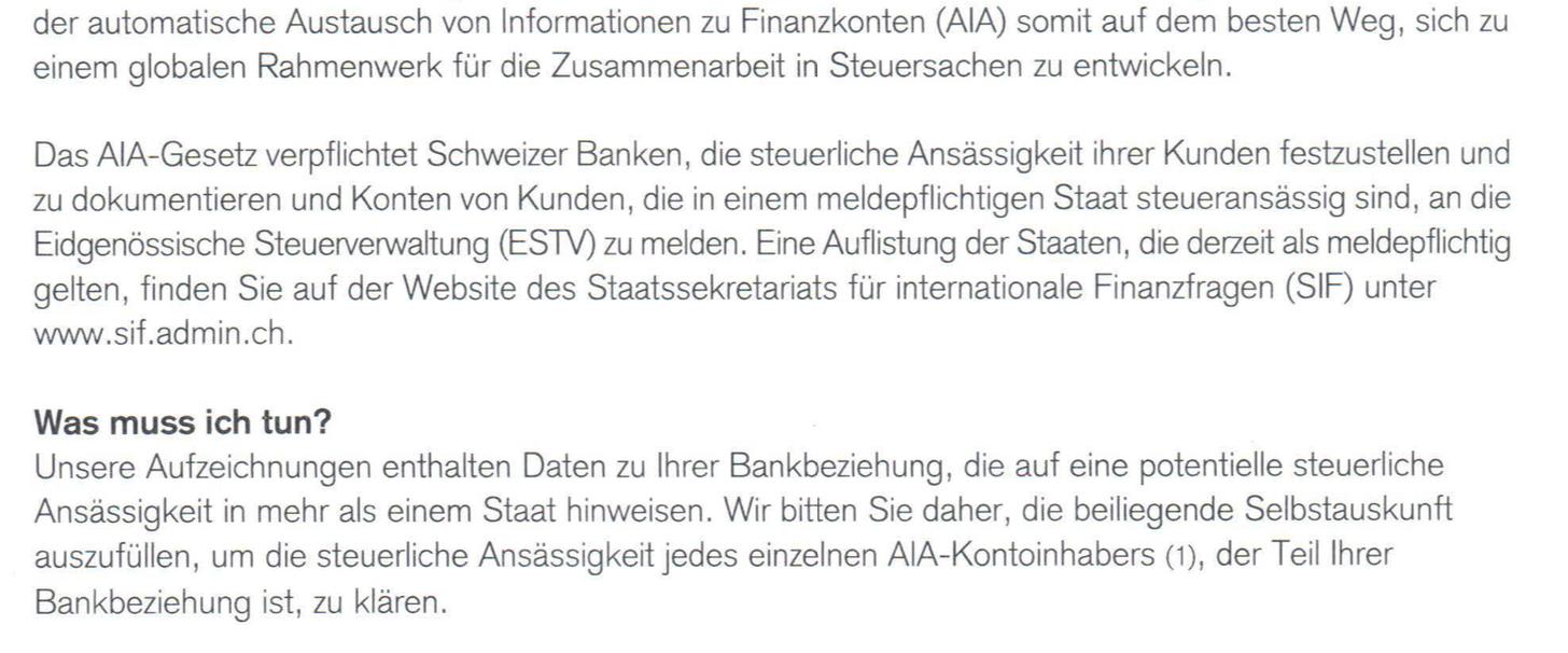 CS eröffnet Jagd auf Fake-Schweizer - Inside Paradeplatz