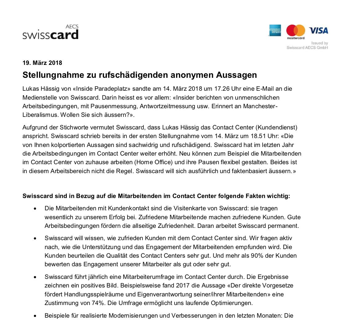 Cs Tochter Swisscard Fliessbandjobs Anno 2018 Inside